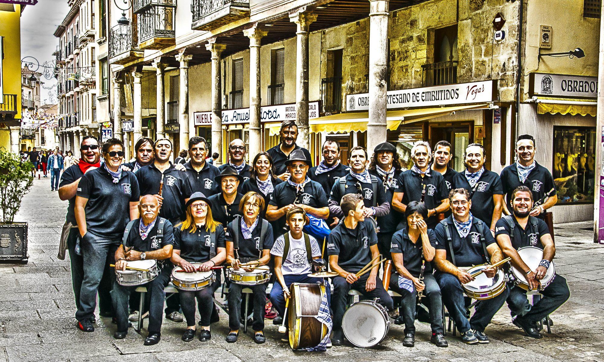 asociacion de dulzainas y tambores villa de aranda.